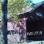  Covered Bridge at the end of the bike path.
