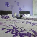 The Violet Blossoms Room