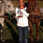  horse back riding!! calgirl and tuffy!