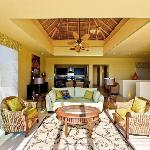  palapa ceiling living area