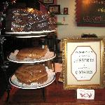 The homemade brownies & cookies at Sparky Town