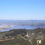 Looking at Morro bay from the Valencia Trail