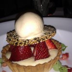 Fabulous strawberry tart