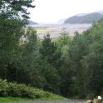  Mawddach estary from Coed Cae garden