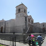 San Francisco Plaza, Church and Monestery