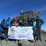 BEHT group at Uhuru Peak