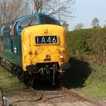 Deltic on the Wensleydale Railway