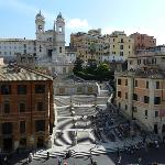 Фотография The View At The Spanish Steps