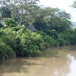 One of the eco-suites on the Melewa River
