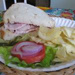 1/2 Turkey Sandwich