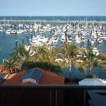 View from 4th floor of the Mackay Marina