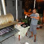  Suleyman beim BBQ
