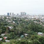 .....Blick auf Port of Spain...