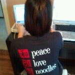  Peace, Love, Noodles!