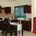 Kitchenette in Studio apartment