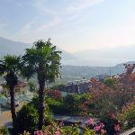 View over the Lake Maggiore
