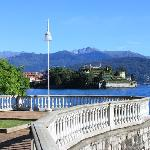 Lakeside promenade at Stresa