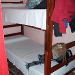 bunks in the double rooms