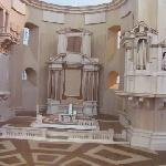 model of a yet lost altar