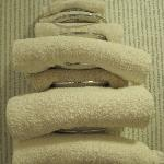  Discoloured towels