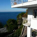 View of Adriatic and three levels of Dream House