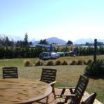 Mel helped to organise an unforgettable chopper flight for my husband and I through the Southern