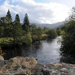 View over River Balvag, Strathyre