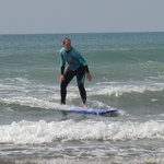 'Riding the wave' :)