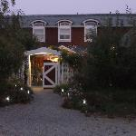 Lingonberry Farm in the evening