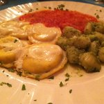 Gnocchi and ravioli
