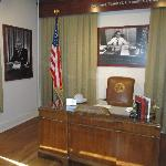 Gov. Clement's desk display