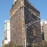 Flat iron building on tour