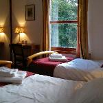  Twin bedroom Clunebeg Lodge
