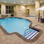 Relax in the whirlpool or take a plunge in the pool.