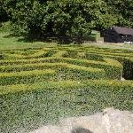 Getting lost in the maze @ Leeds Castle!