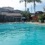 The pool at Sahaid Kawanua
