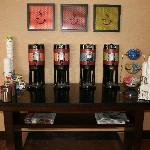 Coffee section