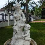 statues outside