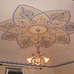 The ceiling in our room - beautiful!