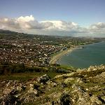 A view of Bray from Bray Head.