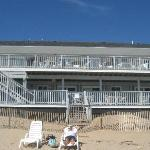 Foto van Sandcastle Beachfront Inn