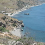 Preveli beach