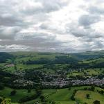 VIEW LLANGOLLEN FROM DINAS BRAN