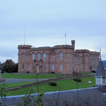 Inverness Castle from Ardentorrie Guesthouse