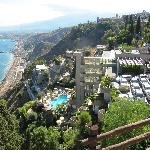 Hotel from Taormina City Garden