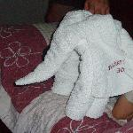 towel-elephant!