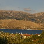 View from room overlooking Argostoli Bay