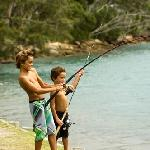 Fishing at Red Rock Holiday Park