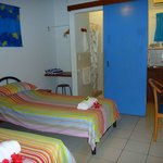 Double room can be set up with twin beds on request