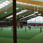 Indoor Tennishalle